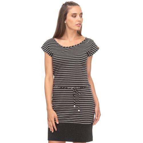 Ragwear Shirtkleid »SOHO« im maritimen Streifen-Look, black