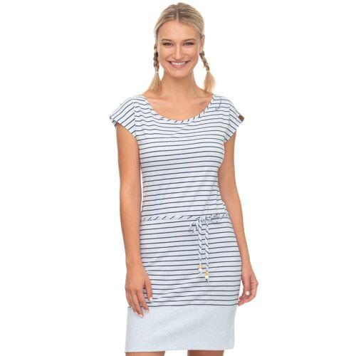Ragwear Shirtkleid »SOHO« im maritimen Streifen-Look, light blue 2042