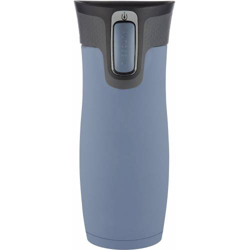 CONTIGO Kinderbecher »Thermobecher WEST LOOP Dark Plum, 470 ml«, grau