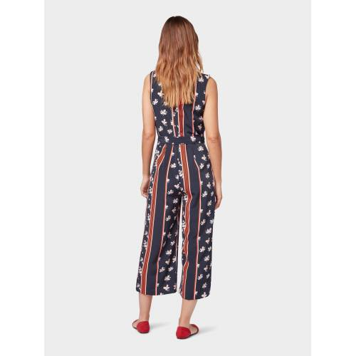 TOM TAILOR Jumpsuit »Culotte-Jumpsuit«, bunt