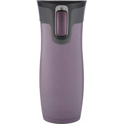 CONTIGO Kinderbecher »Thermobecher WEST LOOP Dark Plum, 470 ml«, lila
