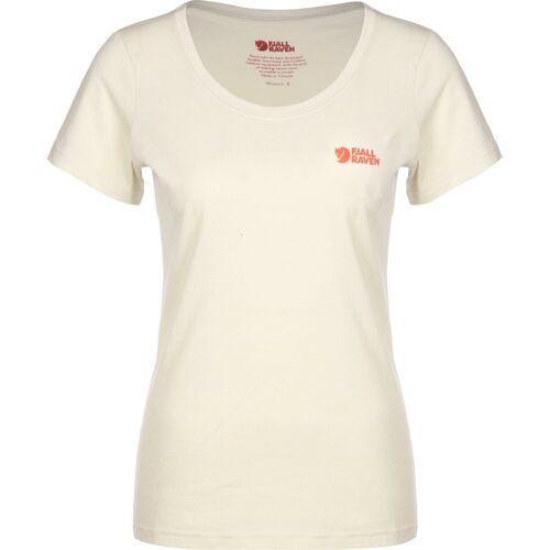 Fjällräven T-Shirt »Logo W«, chalk white