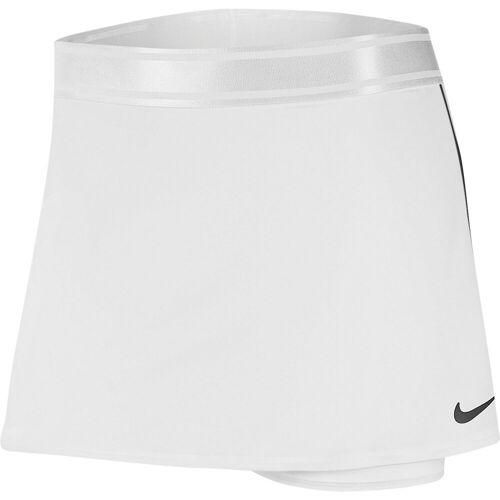 Nike Tennisrock »W NKCT DRY SKIRT STR«, weiß