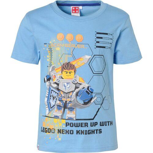 Lego Nexo Knights T-Shirt für Jungen, blau