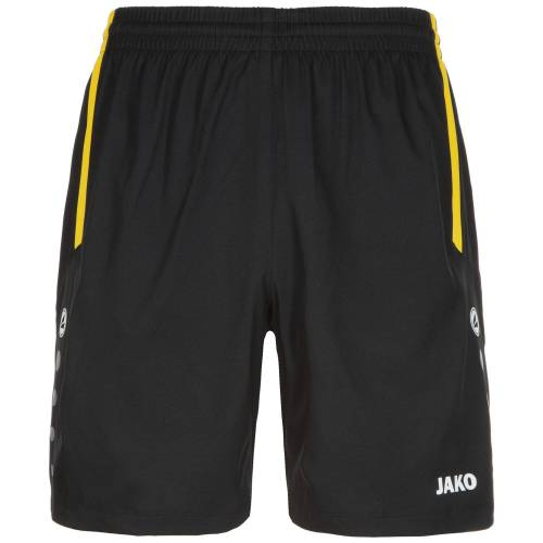 Jako Sporthose Turin Kinder, schwarz/gelb