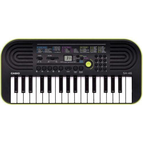 Casio Keyboard »Mini-Keyboard SA-46«, (Set, Inkl. Netzteil und Tasche)