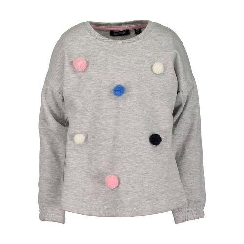 Blue Seven Sweatshirt für Mädchen, Einhorn, grau