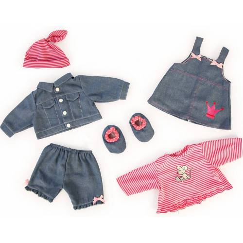 Bayer Puppenkleidung »Puppenkleidung Jeans-Set, 42-46cm«