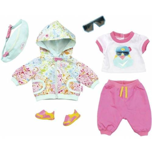 Baby Born Puppenkleidung »Play & Fun Deluxe Fahrrad Outfit«