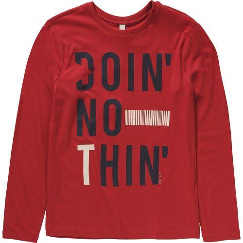 Esprit Langarmshirt für Jungen, rot