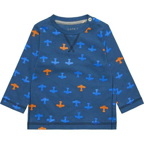 Esprit Baby Langarmshirt für Jungen, blau