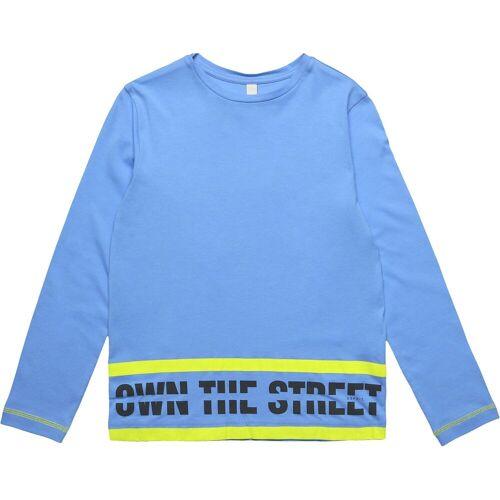 Esprit Langarmshirt für Jungen, blau