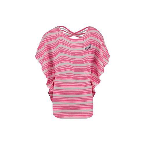 Vingino T-Shirt ILONKA mit Fledermausärmeln für Mädchen, rosa/weiß