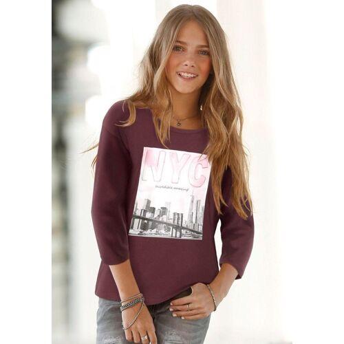 Arizona 3/4-Arm-Shirt »NEW YORK CITY« mit Fledermausärmeln