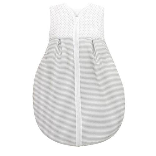 Alvi® Babyschlafsack »Alvi Baby Kugelschlafsack Molton Little Dots grey 632-9«
