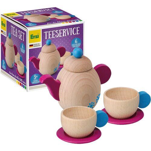 Erzi® Spielgeschirr »Spielgeschirr Teeservice aus Holz«