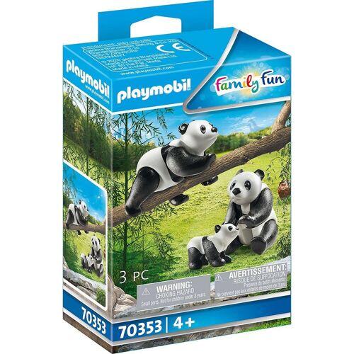 Playmobil Spielfigur »70353 2 Pandas mit Baby«