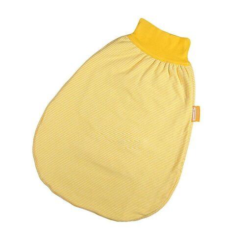 Hoppediz Babyschlafsack »HD Wohlfühl-Strampelsack 50-62 gelb gestreift mit«