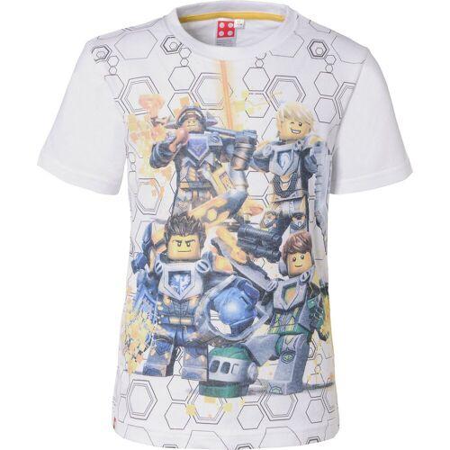 Lego Nexo Knights T-Shirt für Jungen, weiß