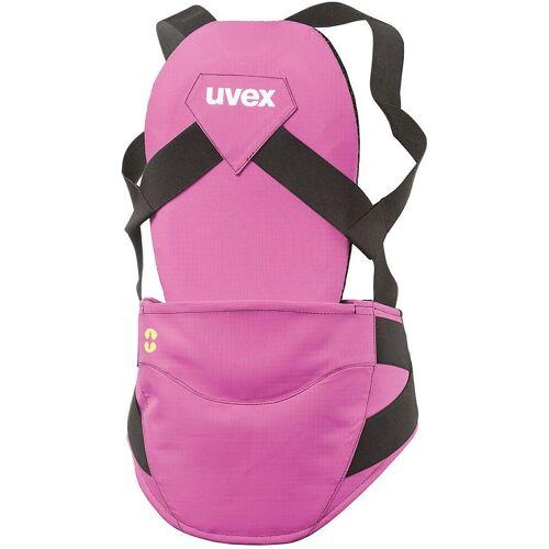 Uvex Protektoren-Set »Rückenprotektor back pure jr w pink«