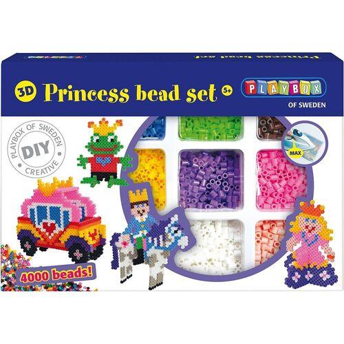 Playbox Bügelperlen »3D-Bügelperlen Set Prinzessin, 4.000 Perlen«