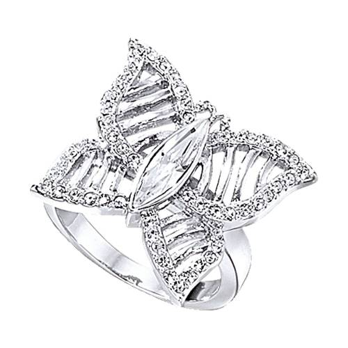 Jacques Lemans Ring »Modeschmuck«, weiß