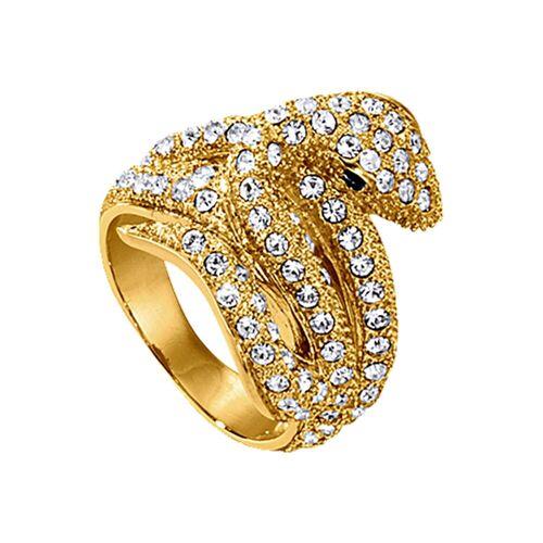 Jacques Lemans Ring »Modeschmuck«, gelb