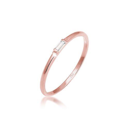 Elli Fingerring »Verlobung Liebe Zart Edel Geo Topas 750 Roségold«