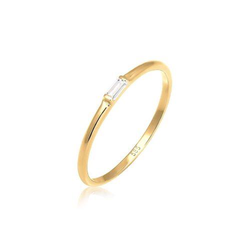 Elli Fingerring »Verlobung Liebe Zart Edel Geo Topas 585 Gelbgold«
