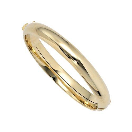 Jobo Armreif oval 585 Gold, Gelbgold 585