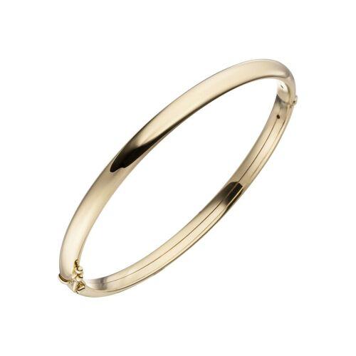 Jobo Armreif oval 375 Gold, Gelbgold 375