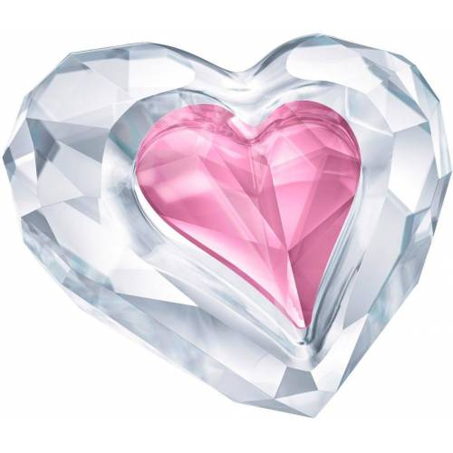 Swarovski Dekofigur »Herz – Only for You, 5428006« (2 Stück), ® Kristalle
