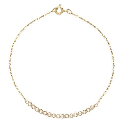Vivance Armband »Bridge-Tennisarmband Swarovski Perlen«