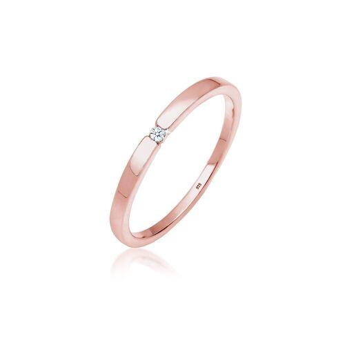 Diamore , Ring, Verlobungsring, Diamant, (0.02, ct), rosé, Roségold