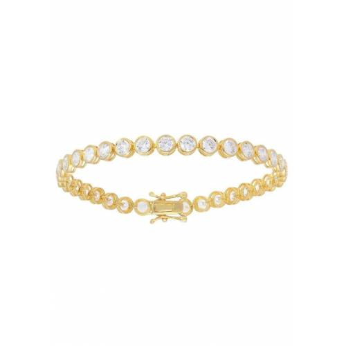 Firetti Armband »Tennisarmband, runde Fassung«, mit Zirkonia