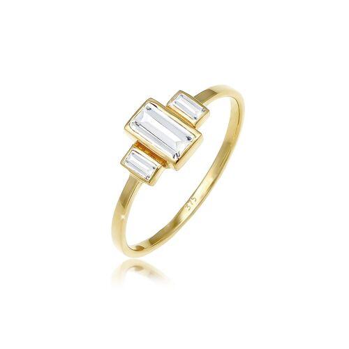 Elli Fingerring »Verlobungsring Topas Edelstein Zart 375 Gelbgold«