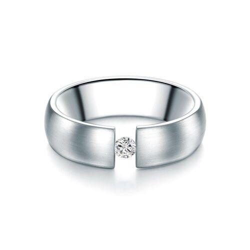 Tresor 1934 Verlobungsring »60186007«, mit Swarovski® Kristallen