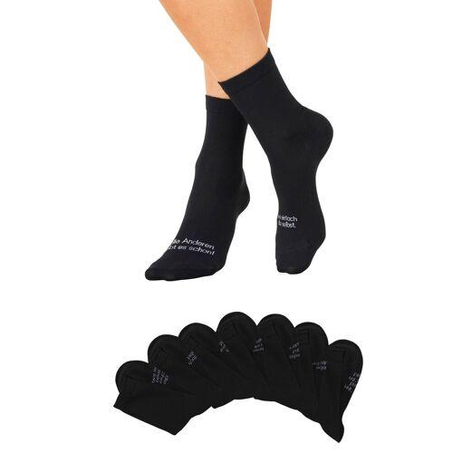 Bench. Socken (7-Paar), mit Turnbeutel