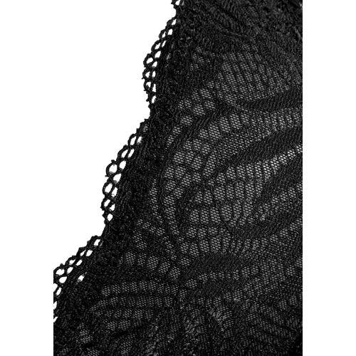 LASCANA Bralette-BH aus hochwertiger Spitze, schwarz