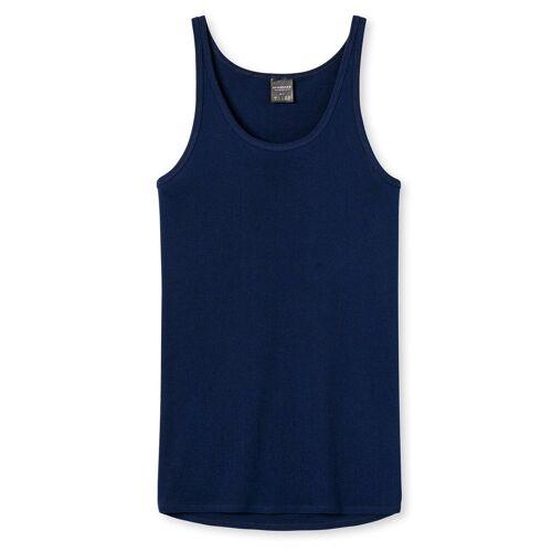 Schiesser Unterhemd »Herren Unterhemd - Sport-Jacke, ohne Arm, Original«, Blau