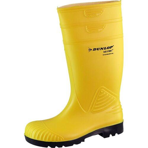 Dunlop Sicherheitsstiefel »ACIFORT«, Sicherheitsklasse S5, gelb-schwarz