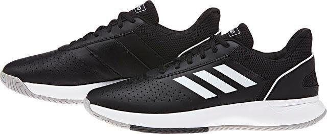 Adidas »Courtsmash« Walkingschuh, schwarz-weiß