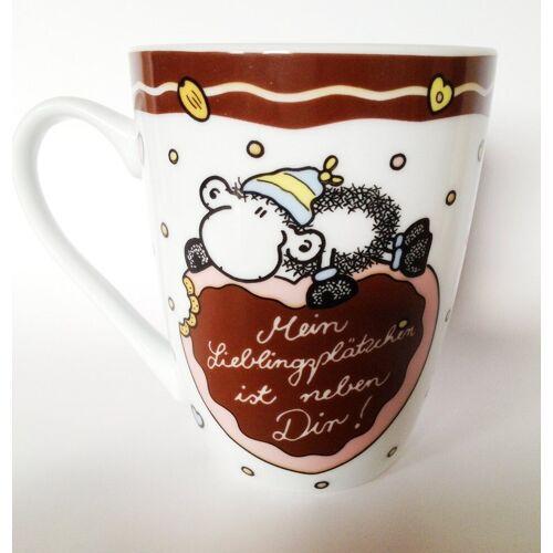 """Sheepworld Tasse »Limited Wintertasse """"Mein Lieblingsplätzchen"""" Tasse Kaffeetasse«"""