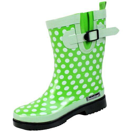 BMD Gummistiefel »Bockstiegel Gummistiefel«, modischer Gummistiefel für regnerische Tage, hellgrün