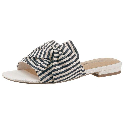Tamaris »Berit« Pantolette im maritimen Design