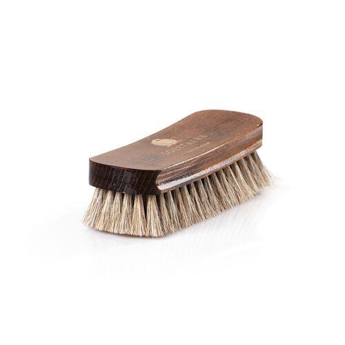 Solitaire Schuhputzbürste »Polierbürste«, Ideal für die Politur hochwertiger Schuhe, braun
