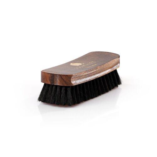 Solitaire Schuhputzbürste »Polierbürste«, Ideal für die Politur hochwertiger Schuhe, schwarz