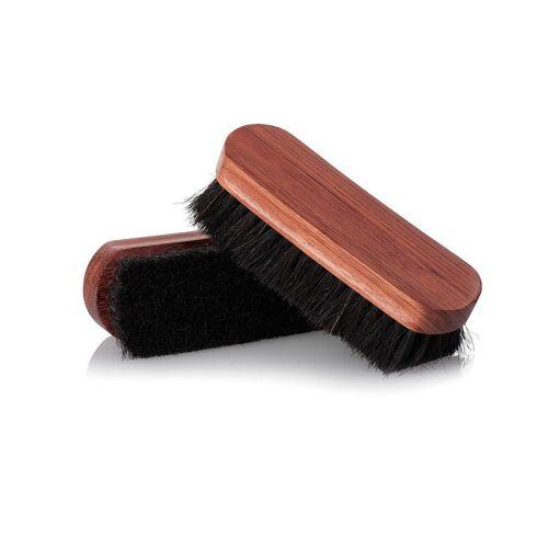 Famaco Schuhputzbürste »Premium Polierbürste«, Ideal für die Politur hochwertiger Schuhe, schwarz
