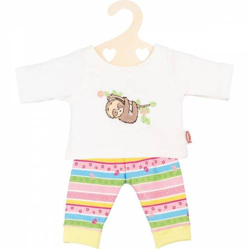 """Heless Puppenkleidung »Pyjama """"Faultier Flauschi"""", Gr. 35-45 cm«"""