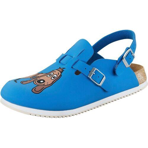 Birkenstock Sicherheitsschuh »Kay SL«, mit Hundemotiv, blau